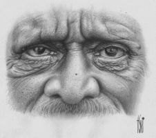 Old man by toniart57