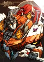 Armada Starscream and Jetfire by dsyuer