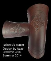 The Order: 1886, Isabeau's bracer by Azael047