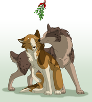 Under the Mistletoe by CaliberArts