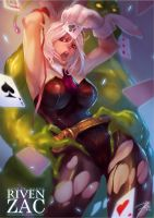 LOL - Riven x Zac by Braionss
