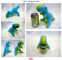 Baby safe mini T-Rex Plushie by SPPlushies