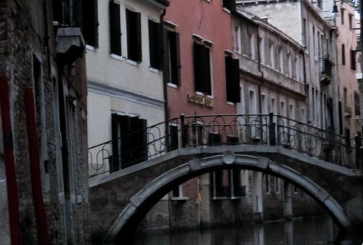 bridge in venice by weejockrocks