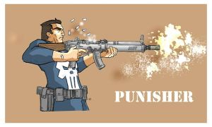 Punisher by jdcunard