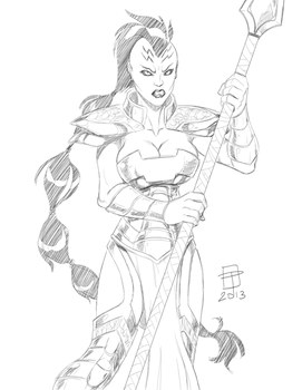 Caiera the Oldstrong- By CallMePo by GorillaKing18