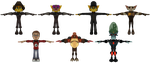 Ratchet and Clank Future: ACiT - Skin Pack by o0DemonBoy0o
