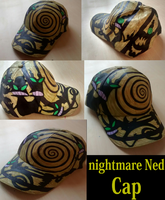 Nightmare Ned Cap by sixteen6stars