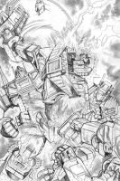 Transformers - Combiner Wars#5 - page 17 by MarcFerreira