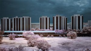 iNfraRed - Chinese Gardens 3 by shin-ex