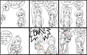 DD comic 3: Baby got BUMP by TaviTheBlue