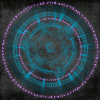 Animated Transmutation Circle by 8-BitQuilter