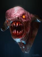 Doom Demon by MitchGrave
