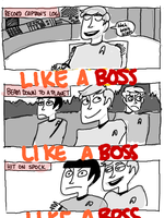 like a boss by MiniMask