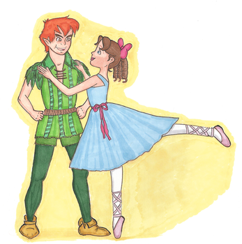 Peter Pan Ballet by girl-in-blue-dress