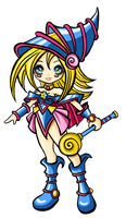 Dark Magical Girl cutee by ma-petite-poupee