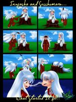 Inuyasha Comic 1 - What Started It All by Vlossy