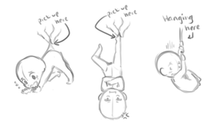 YCH - Set Price Dangling Poses - CLOSED by banANNUmon