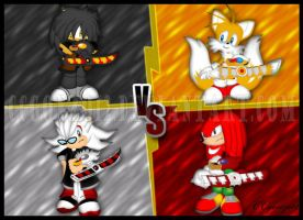 Melax_Lexas VS Tails_Knuckles by CCgonzo12