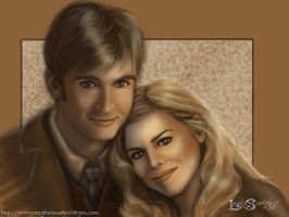 The Doctor and Rose. by leelastarsky