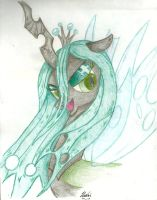 Queen Chrysalis by Huari