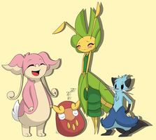 White Nuzlocke Team -So far- by TilForeverEnds