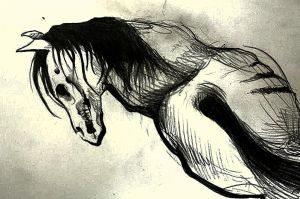 Zombie horse by Koteck