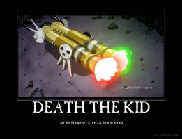 Death the Kid Demotivation by Kilama