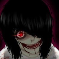 Jeff the Killer - Bloody Mess by ShimmerPop