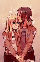 yumikuri is love by Kunaike