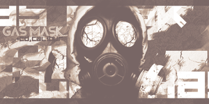 Gas Mask by CaL1BuR