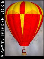 Hot Air Balloon 005 by poserfan-stock