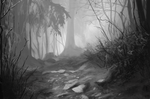 Grayscale Study by Jhann