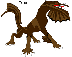 Talon ref by QuestionTheDragon