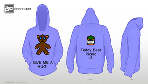 8-bit design - Teddy Bears Picnic by SammylovesCookies