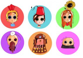 Babies Doctor who by pinkwater1211