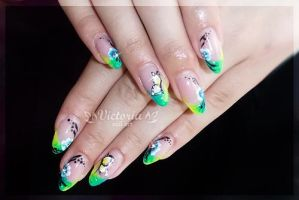 Nail art 268(Gel nails) by ChocolateBlood