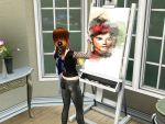 I'm painting gaara's portrait. by ng9