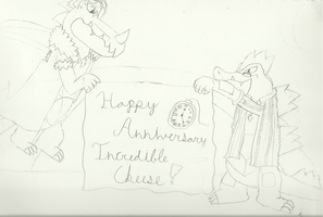 Anniversary Picture :P by IncredibleCheese