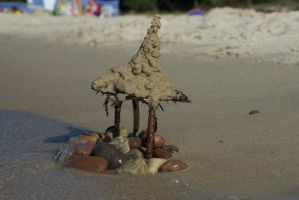 Indestructible Sandcastle by Maroventolo