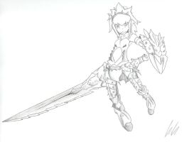 monster hunter female barioth armor by SinthModeOn