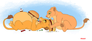 Nala and Simba FAT by 0Nala0