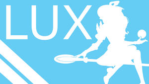 LUX Silhouette - Baby Blue - White - 1920x1080 by urban287