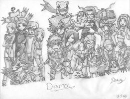 DigiDestined United by wolf-by-the-moon