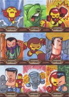 Iron Man Cards 2 by JeffVictor