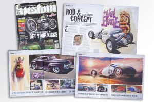 Thrilled about being published in Kustom magazine by GaryCampesi