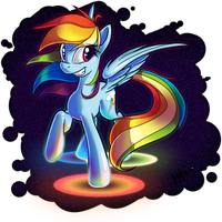 Rainbow Dash by KetrinDarkDragon