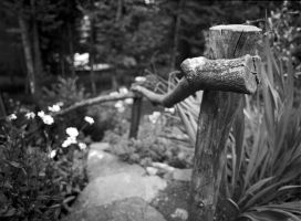 Wooden Handrail by rdswords