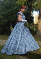 1860's Picknick-Dress - full by Schlangenschatten