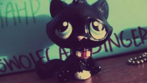 Littlest Pet Shop Scourge Custom by BlackKittyShelby