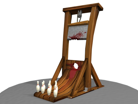 Guillotine 3D by conesa69